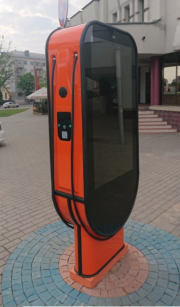 Зарядная станция билборд АС-2