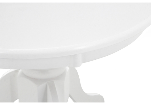 Журнальный стол Round white 60*60*46 Белый
