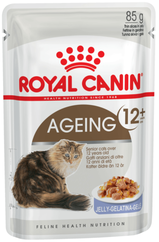 Влажный корм для кошек старше 12 лет (в желе)