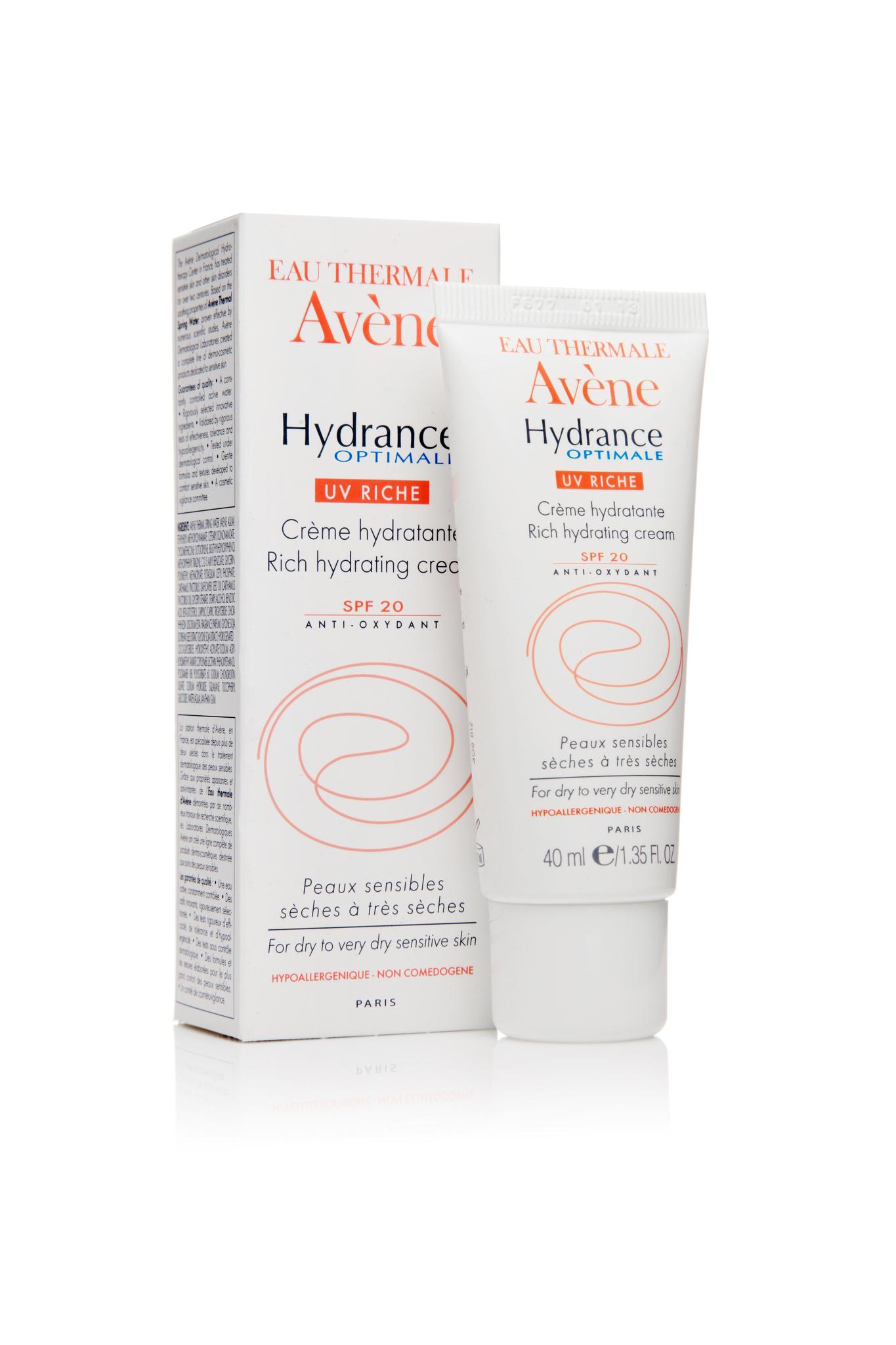 Avene Hydrance optimale UV RICHIE увлажняющий защитный крем для сухой кожи 40 мл.