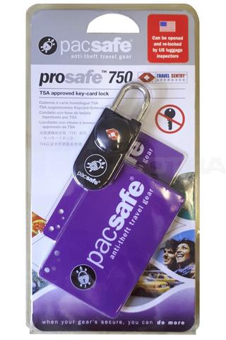 Картинка замок багажный Pacsafe Prosafe 750 черный - 4