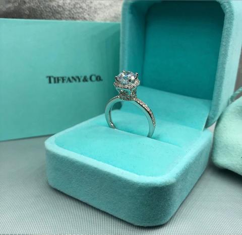 Кольцо Tiffany & Co. серебро