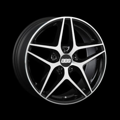 Диск колесный BBS CF 8x18 5x120 ET38 CB82.0 black/diamond cut
