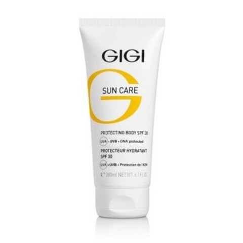 GIGI Sun Care: Крем солнцезащитный для тела с защитой ДНК (Protecting Body SPF 30), 200мл