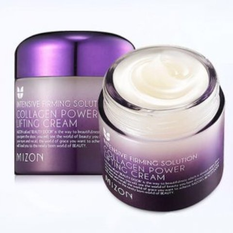 Лифтинг-крем для лица с коллагеном Mizon Collagen Power Lifting Cream