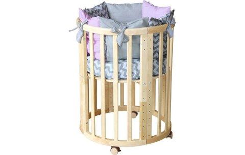 Кроватка детская Polini kids Simple 910, натуральный