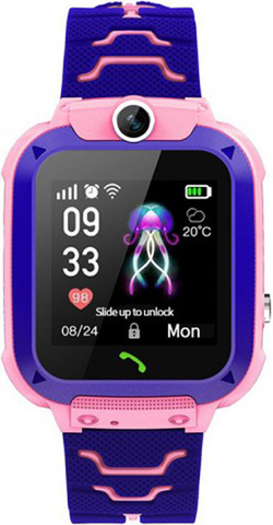 Детские часы с GPS и функцией SOS, Q88