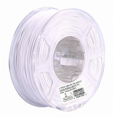 ESUN ABS+ 1.75 мм, 1 кг, белый