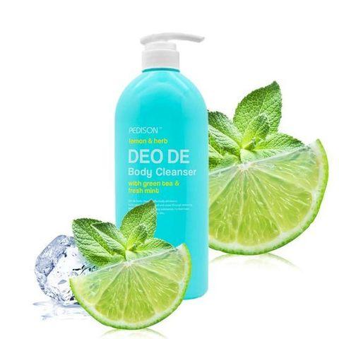 Pedison Deo De body cleanser Гель для душа лимон,мята 750