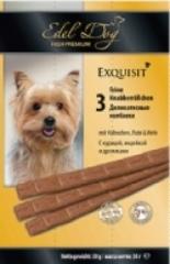 Лакомство для собак Edel Dog Колбаски (курица, индейка, дрожжи)