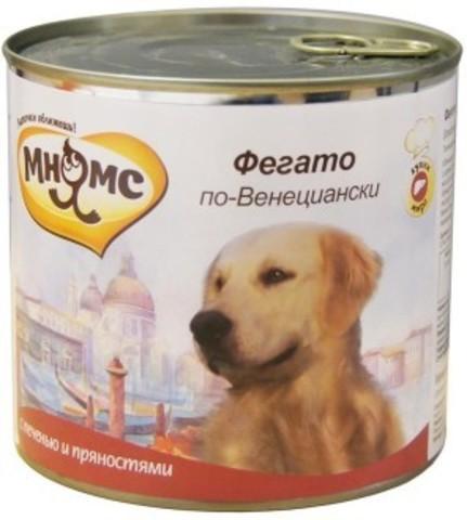 Мнямс консервы для собак Фегато по-Венециански (телячья печень с пряностями)
