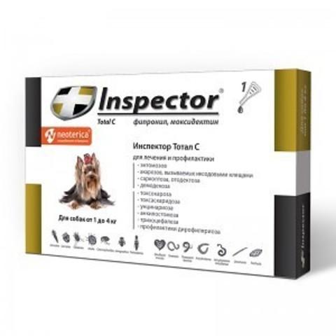 INSPEСTOR (Инспектор) для собак менее 4 кг   1 пип.