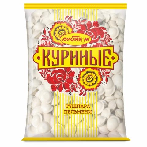ПЕЛЬМЕНИ КУРИНЫЕ 1 кг Рубиком