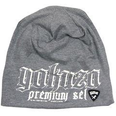 Вязаная шапка серая Yakuza Premium 2659