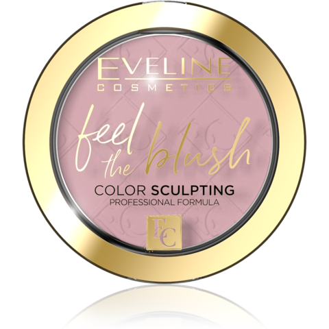 EVELINE FEEL THE BLUSH Румяна для лица 01-PEONY (*3*36)
