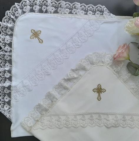 Крестильная пеленка Нежность (трикотаж)