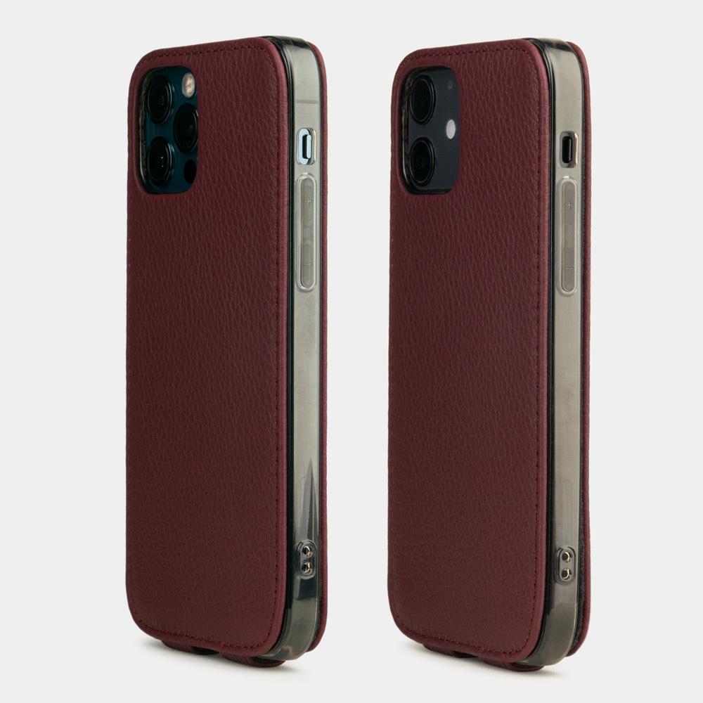 Case for iPhone 12 & 12 Pro - bordeaux