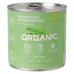 Горошек зеленый Organik Around Изысканный без добавления сахара, органический 425 г