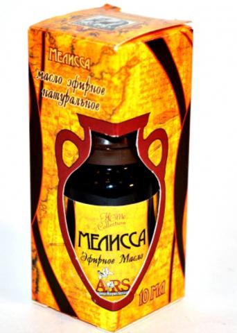 Мелисса — эфирное масло