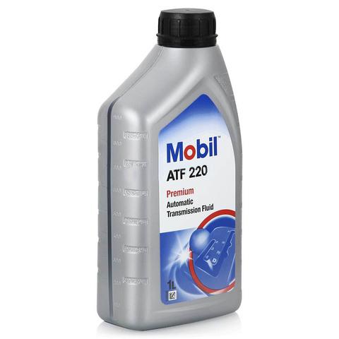 Купить на сайте Ht-oil.ru официальный дилер MOBIL ATF 220 минеральное трансмиссионное масло для АКПП артикул 142106, 152647 (1 Литр)