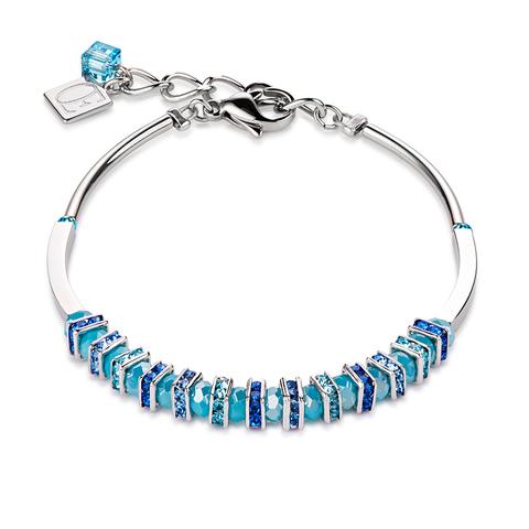 Браслет Coeur de Lion 4858/30-0720 цвет голубой