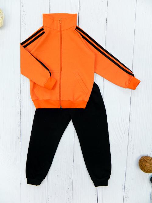 Костюм 3061, оранжево-черный