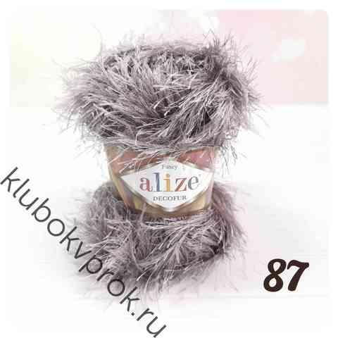 ALIZE DECOFUR 87, Угольный серый