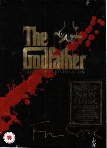 The Godfather Trilogy Audio CD