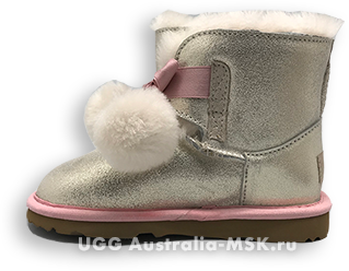 UGG Kids Gita Gold