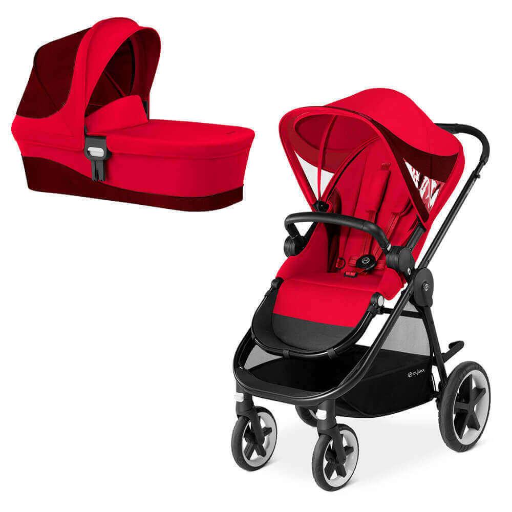 Cybex Balios M 2 в 1, для новорожденных Детская коляска Cybex Balios M 2 в 1  Rebel Red cybex-balios-m-2in1-rebel-red.jpg