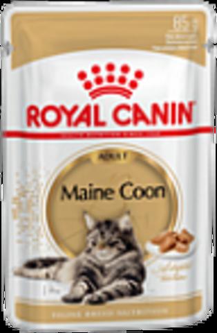 Maine Coon Adult (в соусе) для кошек породы мейн-кун