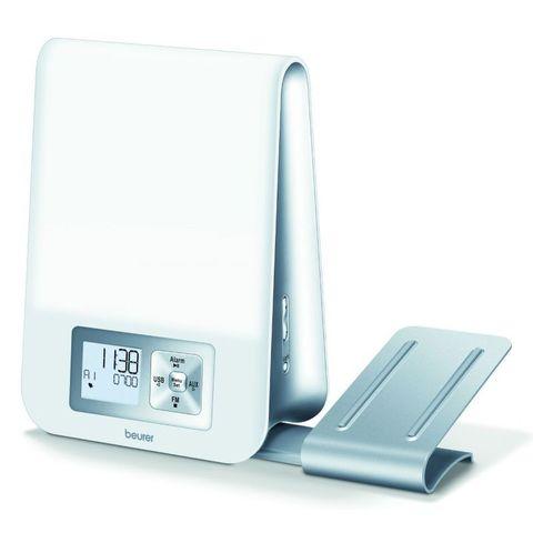 Будильник цифровой Beurer (B-WL80) белый