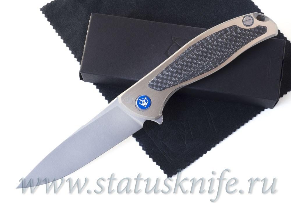 Нож Широгоров Флиппер 95 NL Сатин M390 CF