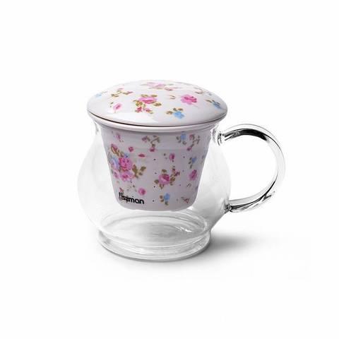 9271 FISSMAN Casablanca Кружка для чая с фильтром и крышкой 500 мл,  купить
