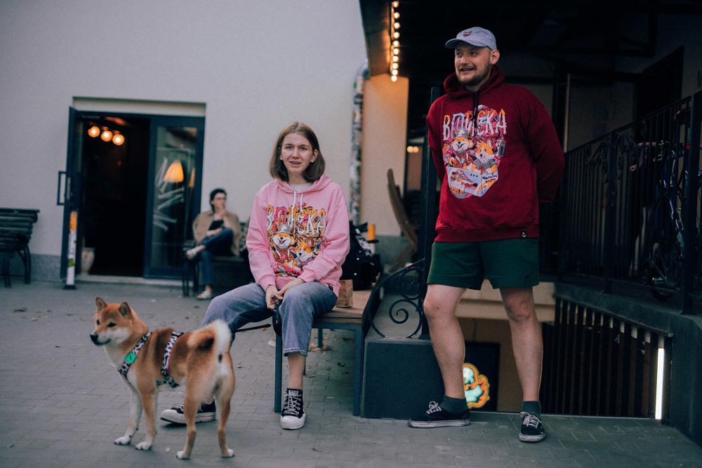Вписка x Barking store / худи