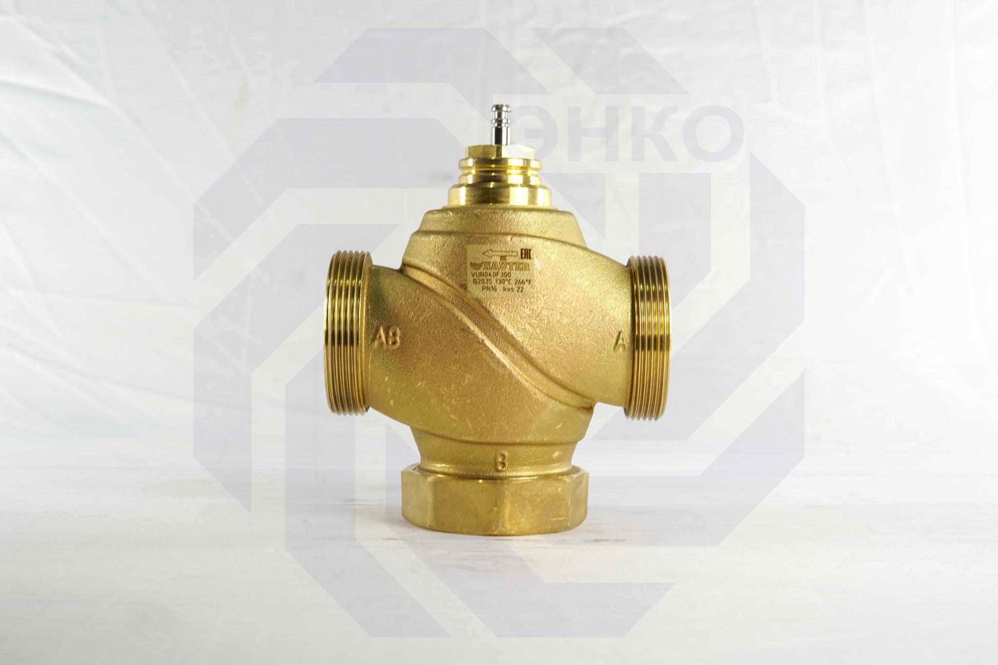 Клапан регулирующий двухходовой SAUTER VUN DN 40