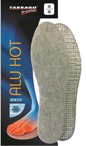 Зимние стельки войлок/фольга IW1273 ALU HOT Tarrago