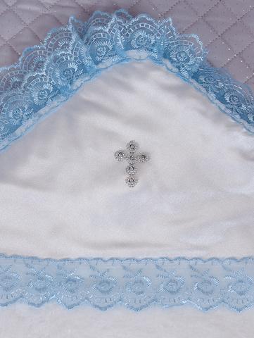 Пеленка крестильная из велсфота  (бел./гол,)
