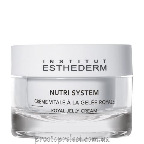 Institut Esthederm Nutri System Royal Jelly Cream - Крем с маточным молочком