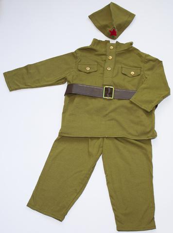 Военная форма  Солдатик 9-12 мес.