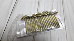 Гребень для волос с декором 7,5*4,2 см, 1 шт.