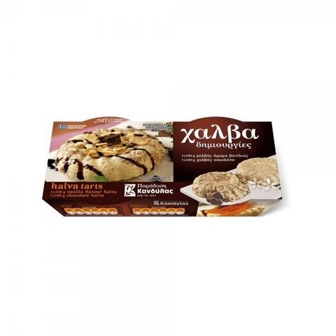 Халва с шоколадом и ванилью Kandylas 2 шт по 100 гр