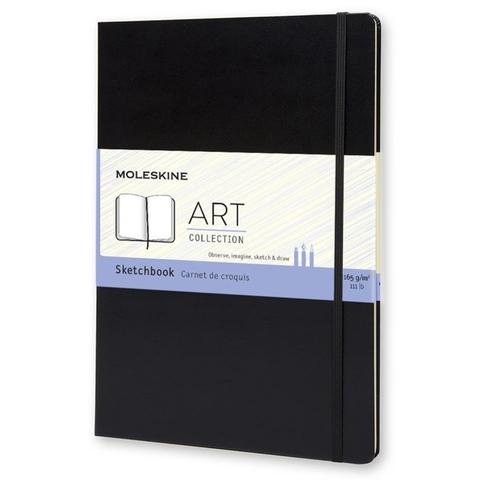 Блокнот для рисования Moleskine CLASSIC Sketchbook ARTBF832 A4 96стр. твердая обложка черный