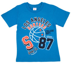 1294-5 футболка детская, бирюза