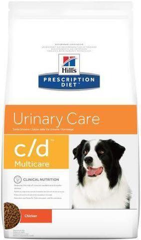 Сухой корм Hills Prescription Diet c/d Canine Urinary Tract Health диета для собак 2 кг