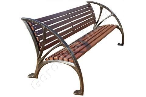 Скамейка чугунная «Калужская»