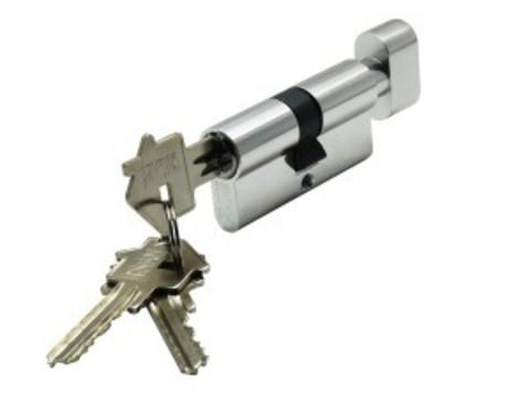 Цилиндр ключ-завертка CYL 3-60 TR CHROME