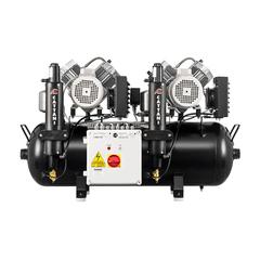AC400 безмаcляный компрессор (6 установок - 2х2 цилиндра) Cattani