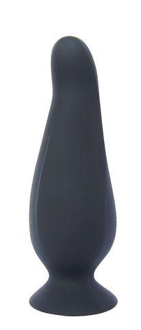 Черная анальная пробка PLAY CANDI BIG TIME MEDIUM BLACK - 12,5 см.