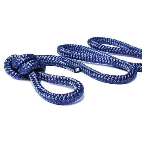 Трос швартовый Ø12 мм/ 9 м, темно-синий